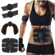 Ems Six Pack – eletroestimulador muscular - creme – Amazon – opiniões